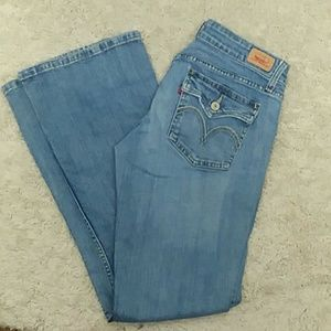Levi's Womens Jeans Low Rise Size 11